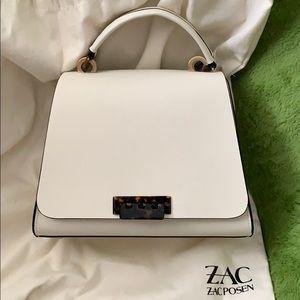 ZAC Zac Posen Eartha Leather Medium Top Door Bag